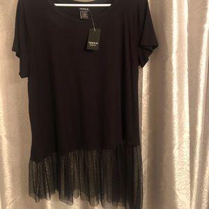 Tops - TORRID Black blouse